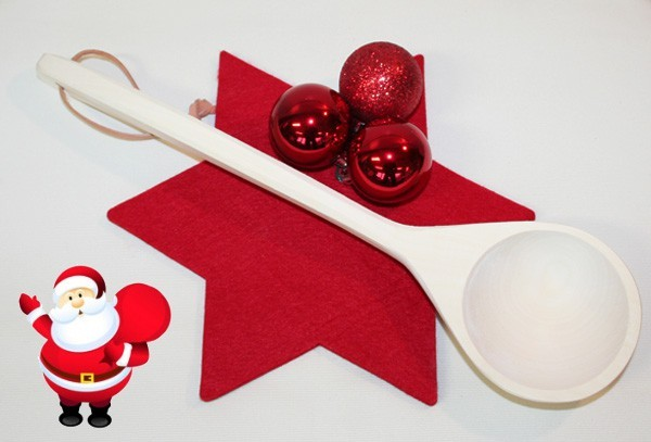 Geschenkset - 2-teilig: Schöpfkelle + Baderegeltafel