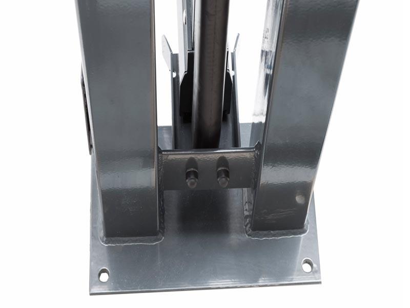 Schiebetor V-Star F60 integriert  verzinkt (B: 4500mm x H: 1000 mm) - elektrisch betrieben