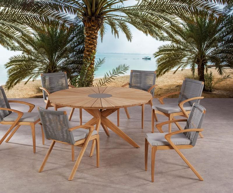 Best Dining-Tisch Agadir, rund 150 x 74 cm