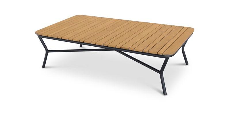 Best Couch-Tisch Mali rechteckig, 140 x 80 x 39 cm - Teak