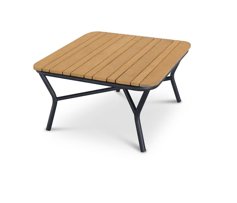 Best Couch-Tisch Mali quadratisch, 80 x 80 x 39 cm - Teak