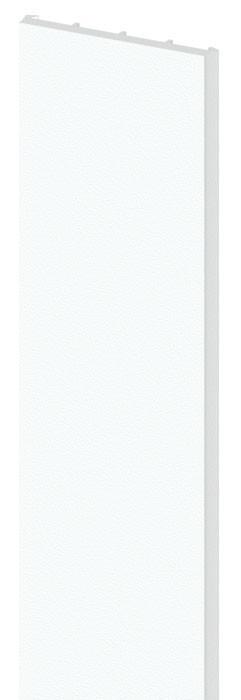 TraumGarten Pfostenprofil Longlife weiß - 3 x 220 cm