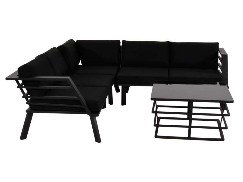 Lounge-Eckset mit Tisch Regatta