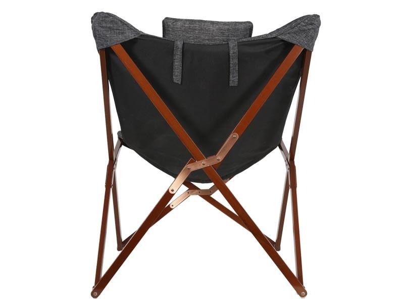 Schmetterling Stuhl, grau gemischt