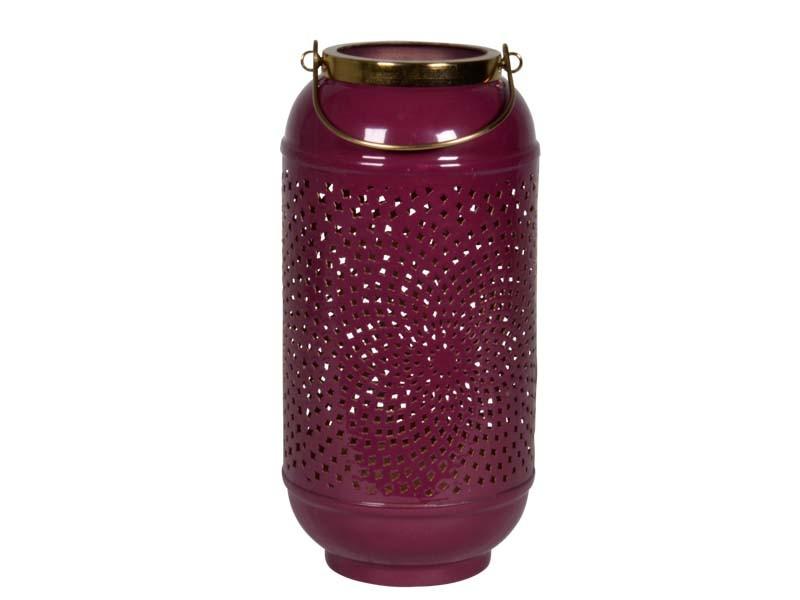 Windlicht Shine purple ø17x33cm
