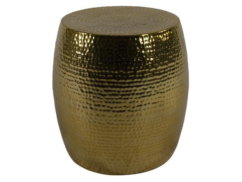 Beistelltisch  / hocker gold ø36x35,5cm