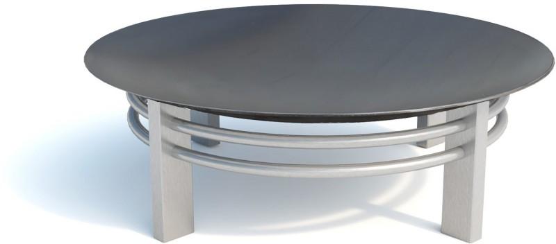 SvenskaV Design Feuerschale Nova Super XXL - Ø 80 cm - Edelstahl