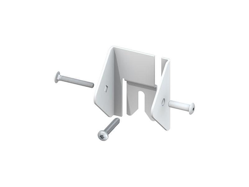 TraumGarten LONGLIFE Universal-Elementhalter - 3er Set Weiß