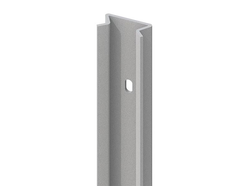 TraumGarten Pfosten-Adpater 45 Grad Silber - 192 cm