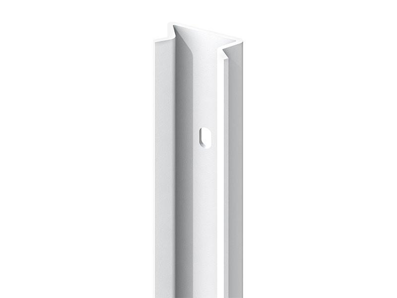 TraumGarten Pfosten-Adpater 45 Grad Weiß - 192 cm