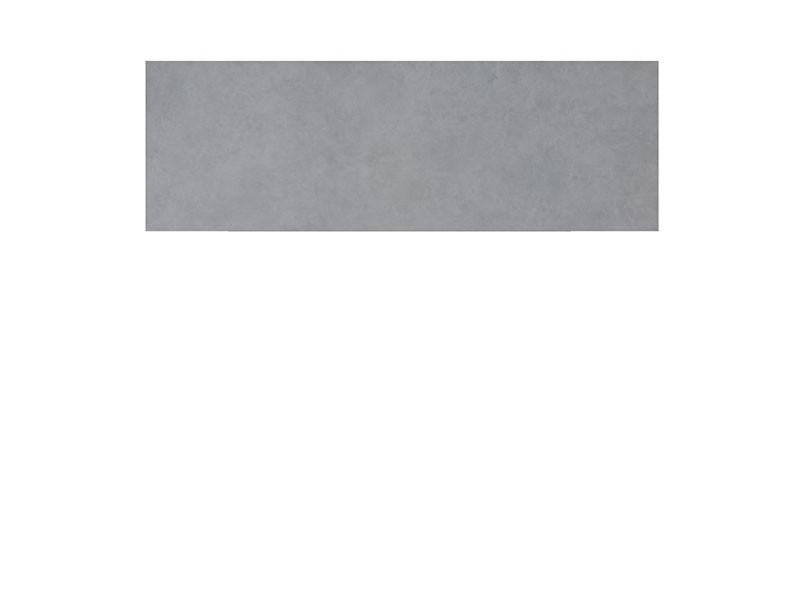 TraumGarten Sichtschutzzaun SYSTEM KERAMIK XL Zement Einzelprofil - 180 x 60 cm