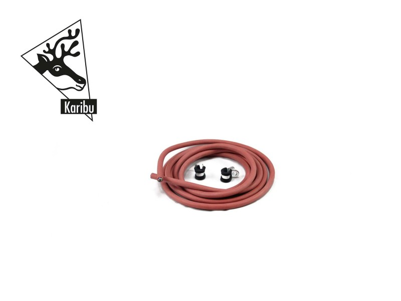 Karibu Silikonkabelset für finnischen Ofen mit externer Steuerung (A+B)
