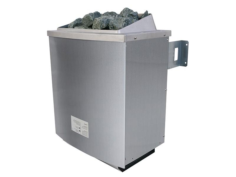 Karibu Saunaofen 4,5 kW finnisch inkl. Steuergerät Easy finnisch + 18 kg Diabas-Steinen + Anschlusskabel