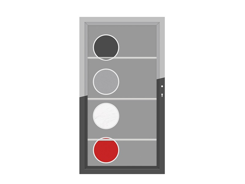 TraumGartem Einzeltor Maßanfertigung SYSTEM Board XL