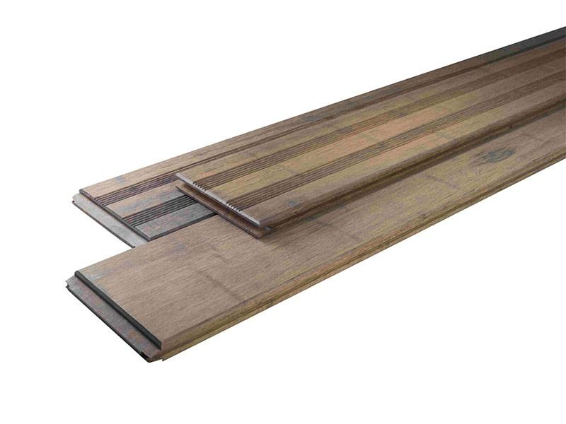 Bambus Primaverde Terassendielen Set 20qm - Farbe: White Oak