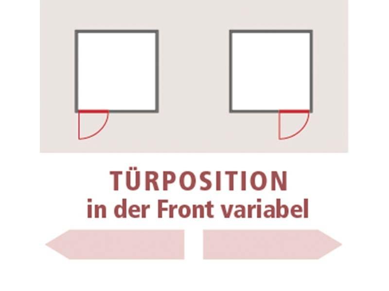 Karibu 68mm Systembausauna Norin - Fronteinstieg - Ganzglastür klar - ohne Dachkranz - 4,5kW Saunaofen mit externer Steuerung Easy