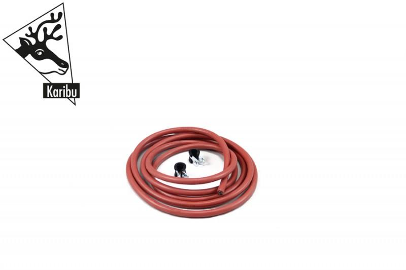 Karibu Kabel A: 3m Silikonkabel zum Ofen bzw. Steuergerät - fünfadrig 2,5mm