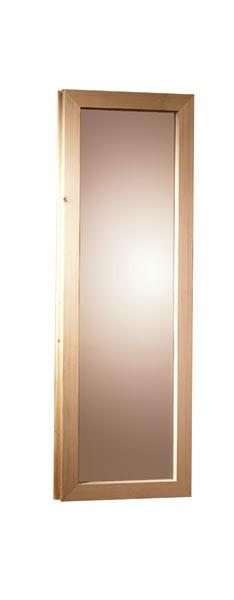 Karibu Sauna Fenster für 40 mm Saunen (42 x 122 cm)