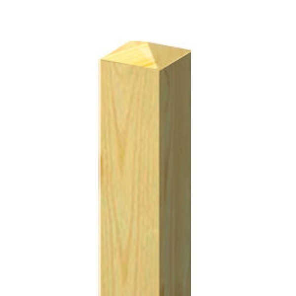 TraumGarten Zaunpfosten Select Nadelholz kdi - 9 x 9 x 195 cm