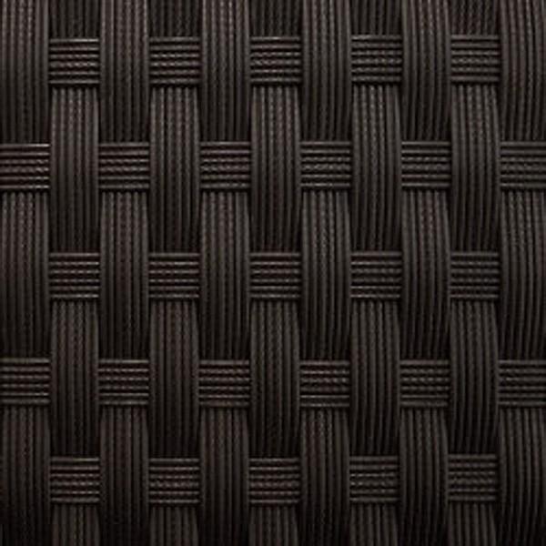 Rattan XXL Loungemöbel Einzelelement Espace Luxus Ecksofa inkl. Kissen - Farbe: Dunkelbraun