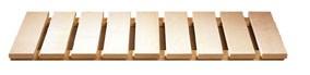 Karibu 40mm Massivholzsauna Sahib 1 Eckeinstieg und Bronzierter Tür - mit Dachkranz