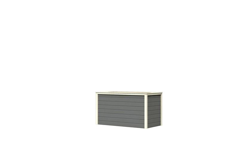 Karibu Hochbeet 2 (166 x 83 x 91 cm) - terragrau