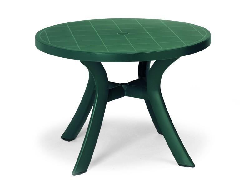 Best Tisch Kansas rund 100cm Ø grün