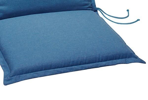 Best Zierkissen 40 x 40 x 12cm Dessin-Nr.: 1232 Farbe: blau