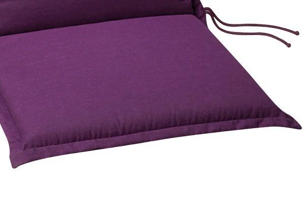 Best Zierkissen 40 x 40 x 12cm Dessin-Nr.: 1234 Farbe: lila
