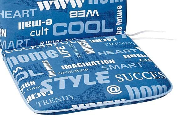 Best Monoblock Sitz 45 x 45 x 5cm Dessin Nr.: 1261 Farbe: gemustert
