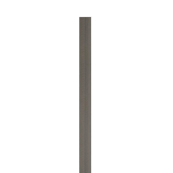 TraumGarten Zaunpfosten WPC anthrazit mit Metallkern - 8,4 x 8,4 x 200 cm