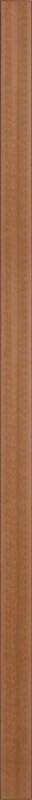 TraumGarten Zaunpfosten WPC braun - 8,4 x 8,4 x 200 cm