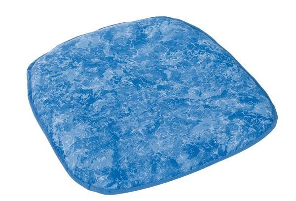 Best Tischdecke rund 160cm blau-marmor