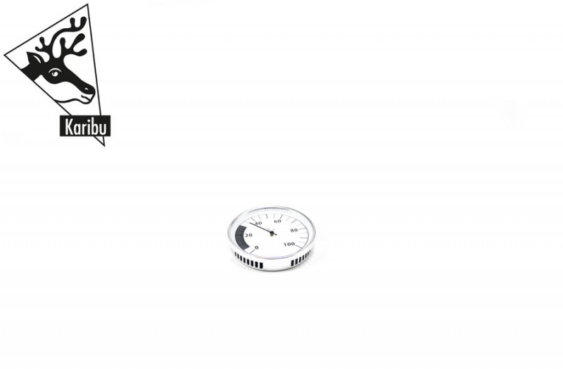 Karibu Hygrometer Classic, rund 10cm