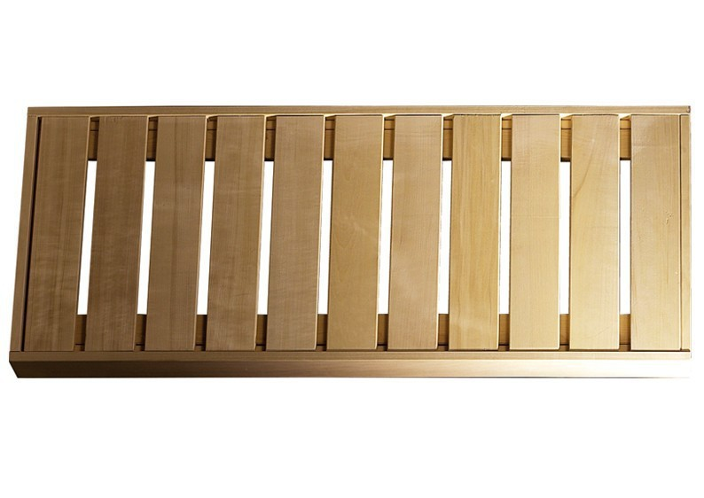 Karibu Saunabank Espenholz Grösse 2   (181 x 55 x 9 cm)