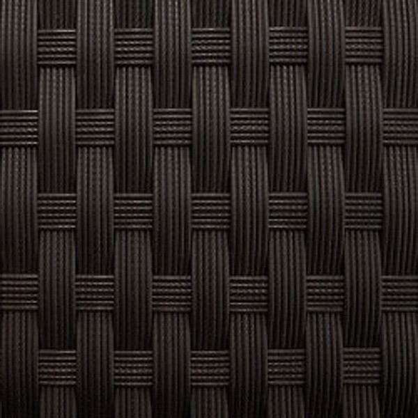 Rattan XXL Loungemöbel Einzelelement Espace Luxus Sessel  inkl. Kissen - Farbe: Dunkelbraun