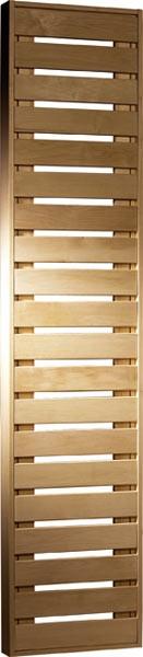 Karibu Saunabank Espenholz Grösse 3 (B 55 cm x H 216 cm x 9 cm)