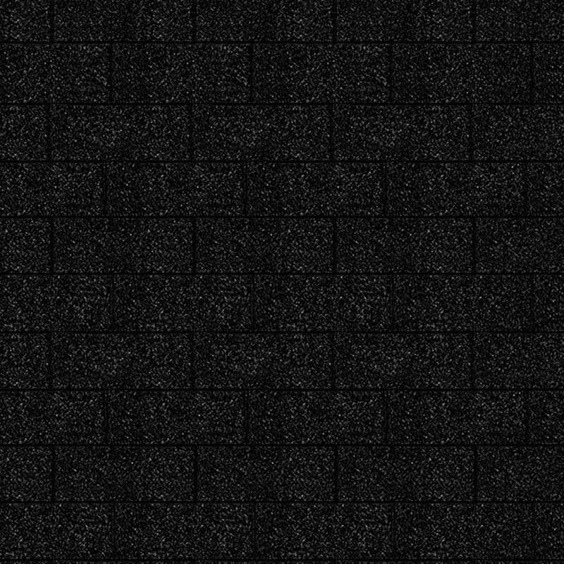 Karibu Dachschindeln Rechteck - Schwarz 3m² Pakete
