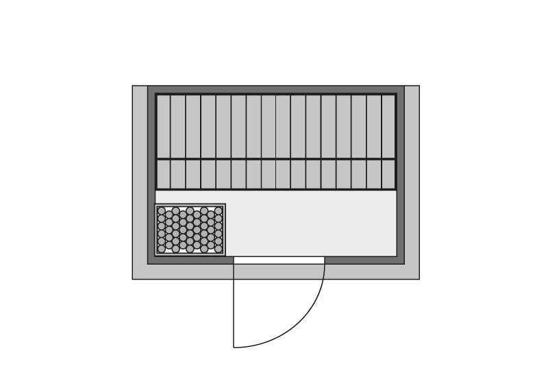 Karibu Heimsauna Ronja (Fronteinstieg) Ofen 3,6 kW externe Strg.modern Kein Kranz Plug & Play 230Volt Sauna