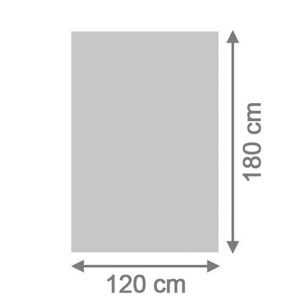 TraumGarten Sichtschutzzaun System Board Rechteck titangrau - 120 x 180 x 0,6 cm