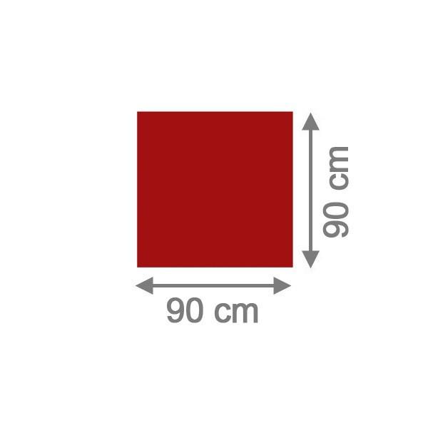 TraumGarten Sichtschutzzaun System Board Rechteck rot - 90 x 90 x 0,6 cm