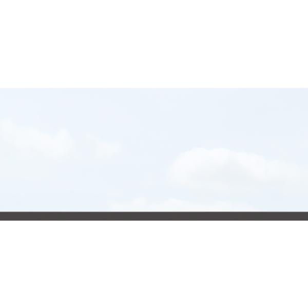 TraumGarten Dekorprofil Set Matt Kunststoff - 30 x 178 cm