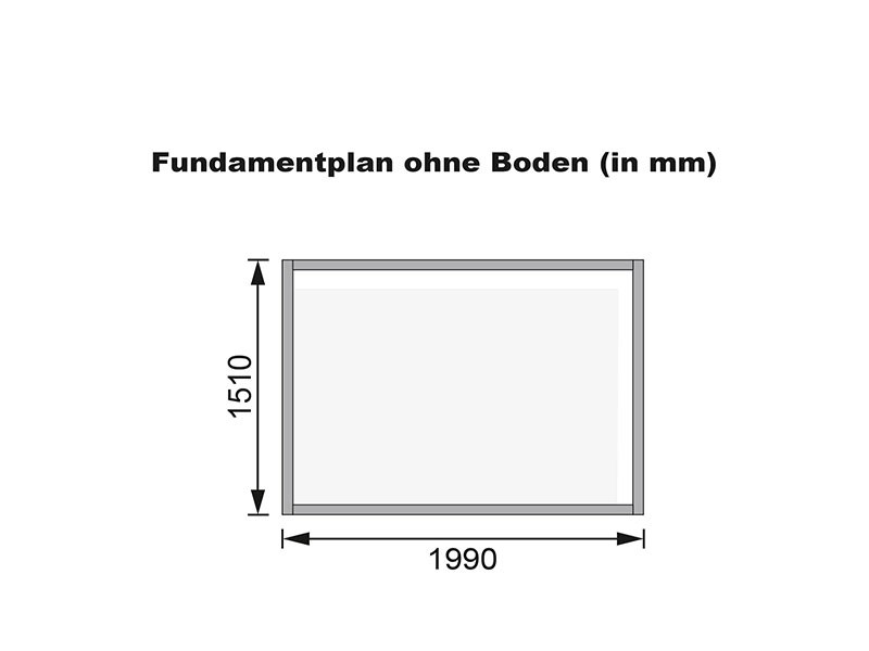 Karibu Holz-Gartenhaus Glücksburg 4 - Pultdach - 19 mm Schraub-/Stecksystem - terragrau