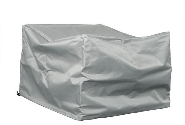 Schutzhülle für Sessel 77x70x72 cm (LxBxH) - Farbe: grau