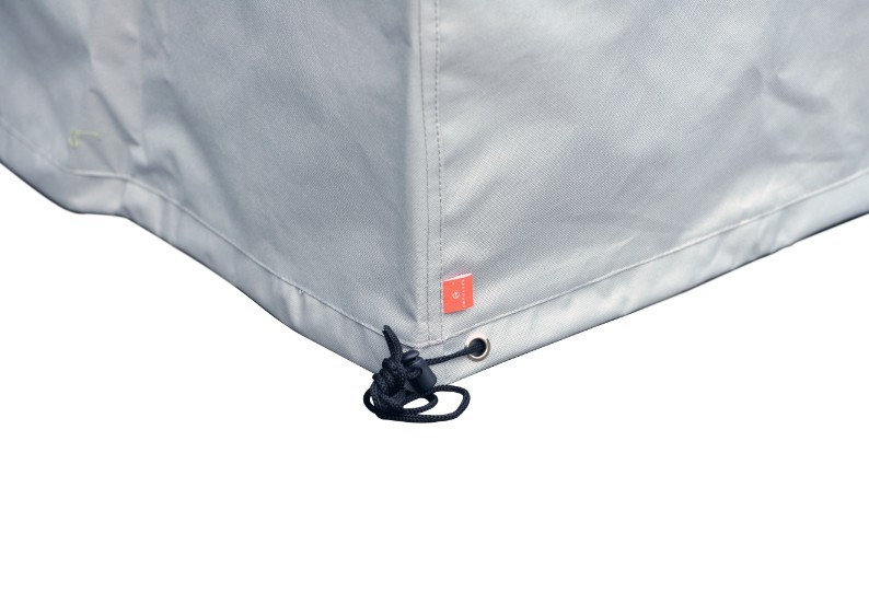 Schutzhülle für Esstischgruppe 185x125x76 cm (LxBxH) Farbe: grau
