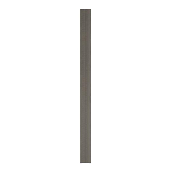 TraumGarten Zaunpfosten WPC mit Metallkern anthrazit mit Metallkern - 8,4 x 8,4 x 100 cm
