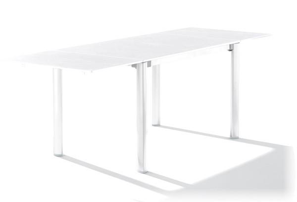 Sieger Exclusiv Tisch Puroplan Marmor Weiss Inkl