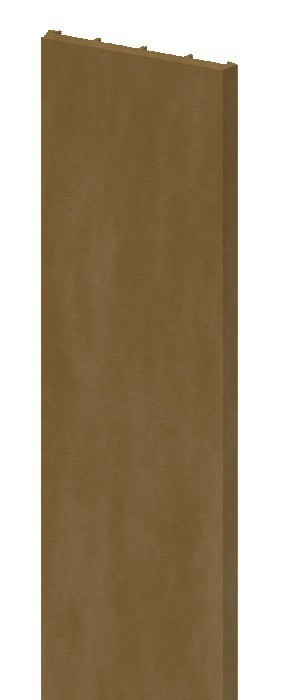 TraumGarten Pfostenprofil Longlife braun - 3 x 220 cm