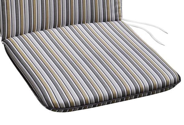 Best Sesselauflage nieder 100x50x6cm D.1573