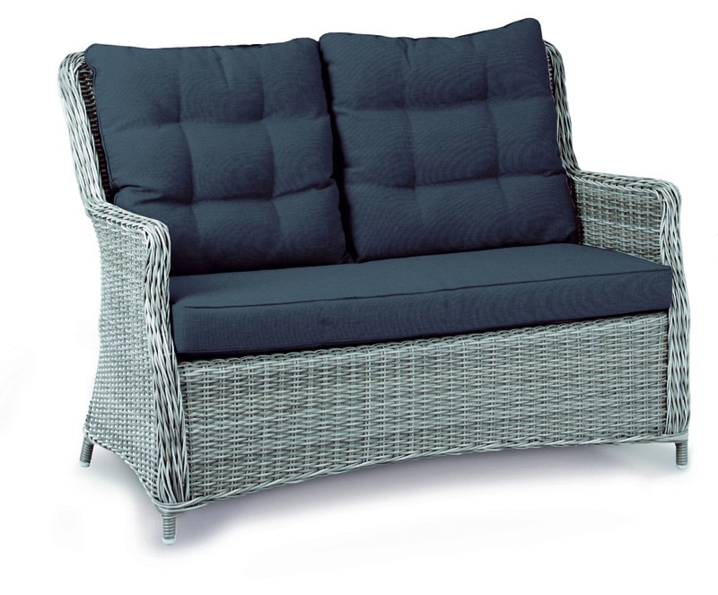 Best Couch Gartensofa Barcelona warm-grey
